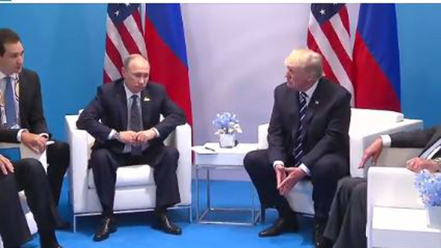 Trump spoke with Putin at the end of the G20 social dinner
