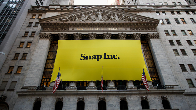 Credit Suisse Group Reiterates Outperform Rating for Snap Inc. (SNAP)