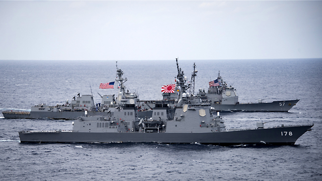 US, Indian, Japanese Maritime Forces to Participate in Malabar Drills 2017