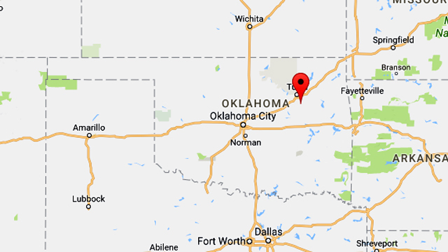 Man charged in explosion at Air Force recruiting office in Oklahoma
