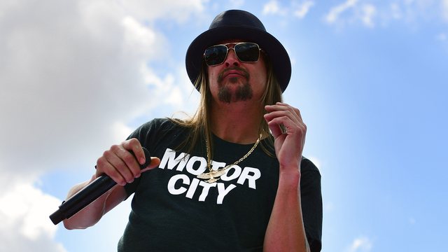 Kid Rock announces he's not actually running for Senate