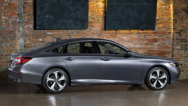 Honda Accord is all new for 2018