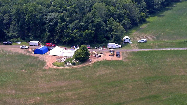 Killer buried four missing Pennsylvania men on family's farm