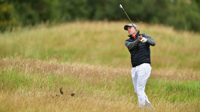 PGA Open: Rory McIlroy 'ecstatic' after second-round 68
