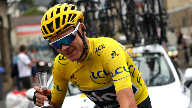 Chris Froome crowned winner of Tour de France for fourth time