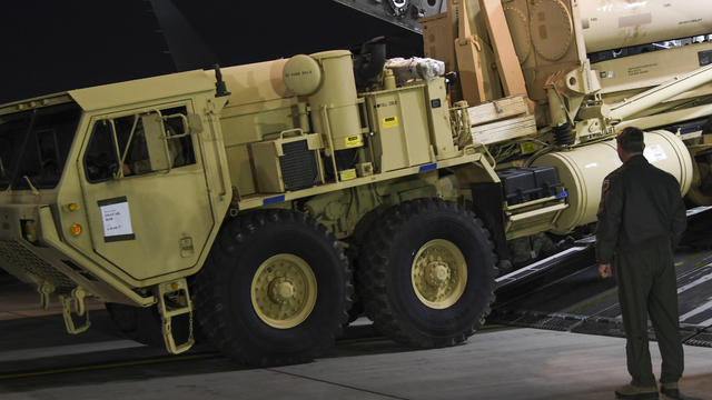 Based THAAD system intercepts target missile over Pacific
