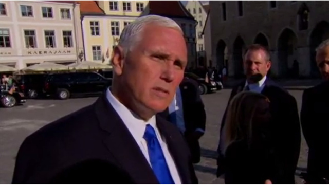 Pence slams claim that he's planning 2020 presidential run