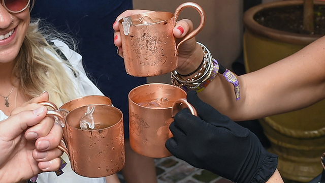 Moscow Mule copper mugs may make you sick, officials say