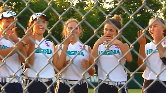Virginia softball team disqualified after 'inappropriate' Snapchat post