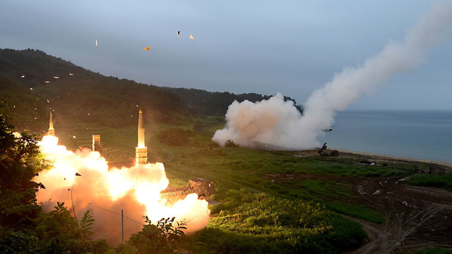 NKorea examines plan to contain US bases on Guam