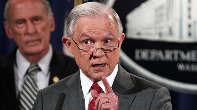 Jeff Sessions: We're investigating 27 leaks of classified information