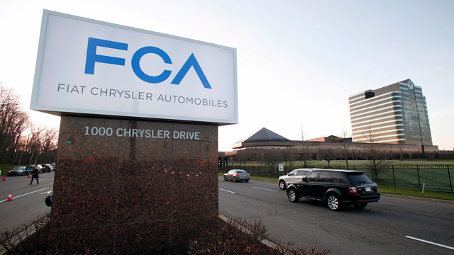 Fiat-Chrysler and BMW join forces to develop self-driving cars