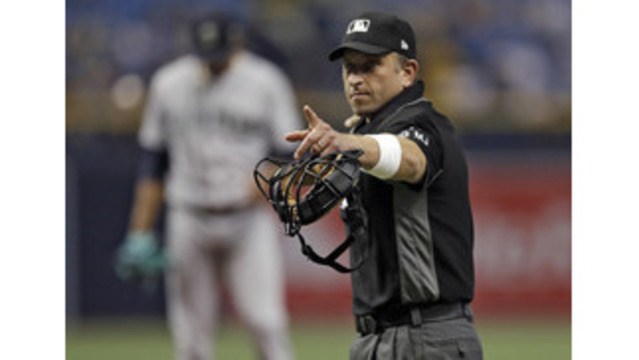 Umpires wearing white wristbands in protest of 'escalating verbal attacks'