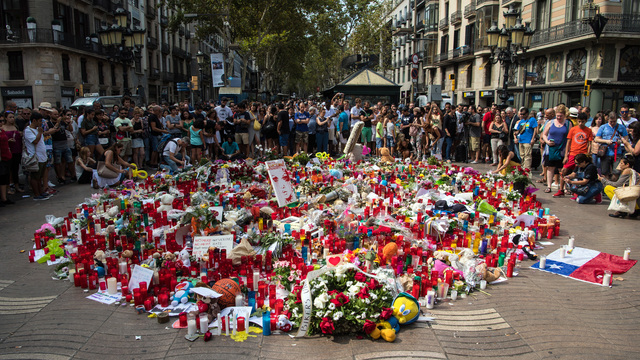 Mass Held For Spanish Terror Attack Victims In Barcelona