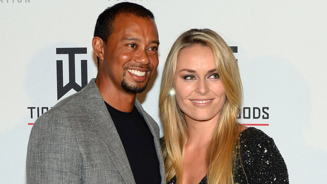 Tiger Woods, Lindsey Vonn in May 201438809187