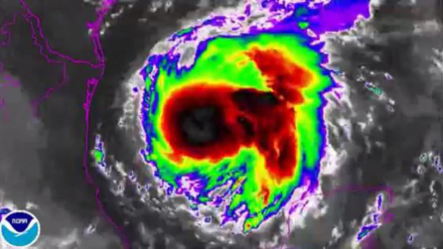 Harvey projected to become Category 3 hurricane
