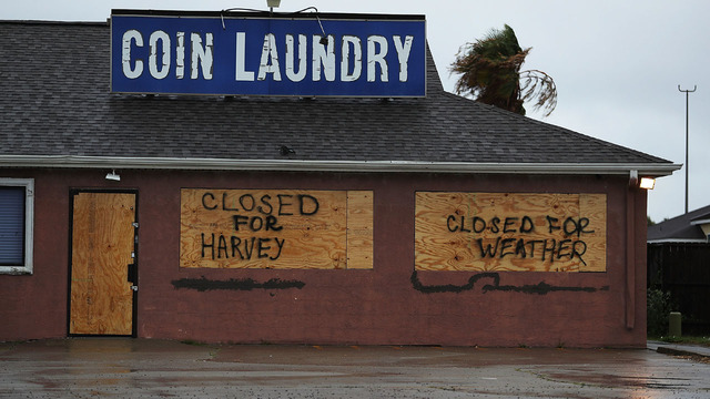 Laundry boarded up for Harvey23067704
