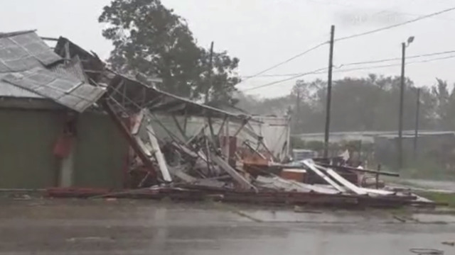 Building damaged in victoria, texas, Hurricane Harvey70439593
