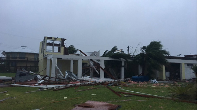 building destroyed, Rockport, Texas, Hurricane Harvey49058508