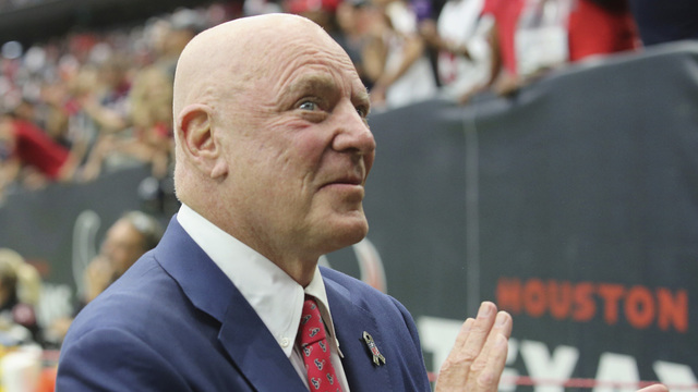 Bob McNair, Texans pledge $1 million to Harvey relief