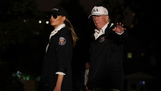 Trump returns to Gulf Coast for test as 'comforter in chief'