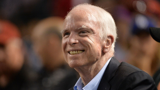 McCain Gets Love from Hollywood