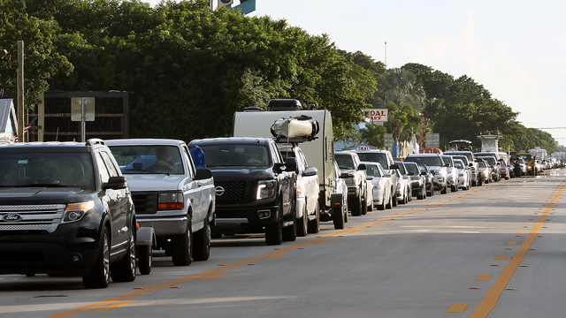 Florida preps for mass evacuations, braces for possible gridlock