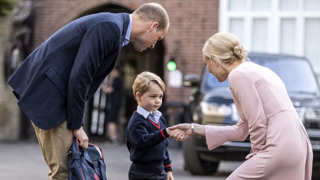 Prince George's first day of school65935480