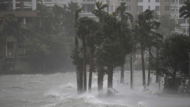 Irma, Now A Tropical Storm, Churns Through Florida