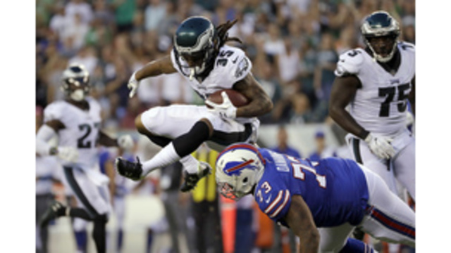 Eagles CB Darby injures ankle vs. Redskins