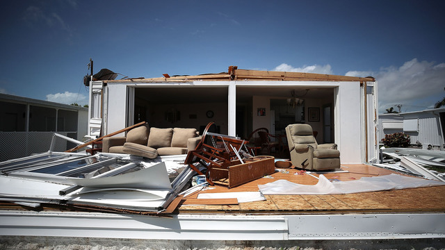 FEMA: About 25% of homes destroyed in Florida Keys