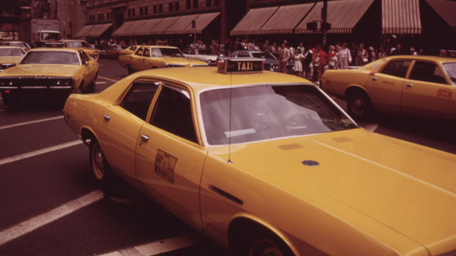 Taxi cabs in New York City in 1970s60234913