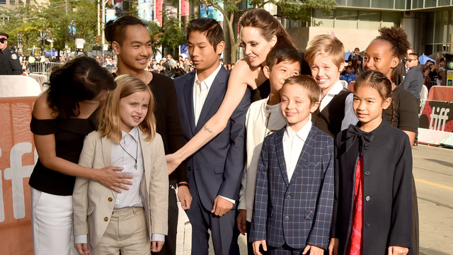 Angelina Jolie makes film festival a family affair