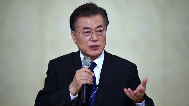 South Korean leader welcomes North Korean Olympic participation