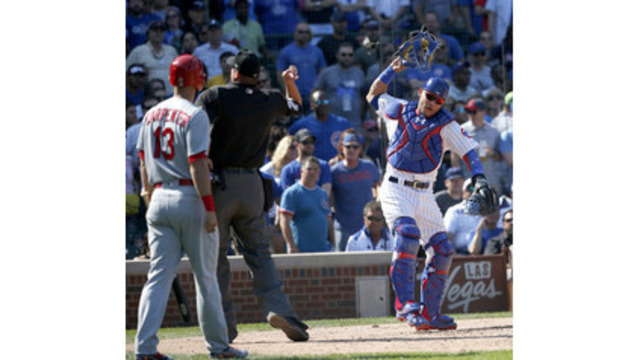 Cubs' Contreras suspended 2 games, appeals; Lackey fined