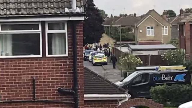 Police raids in surrey after London Tube attack, screenshot06903124
