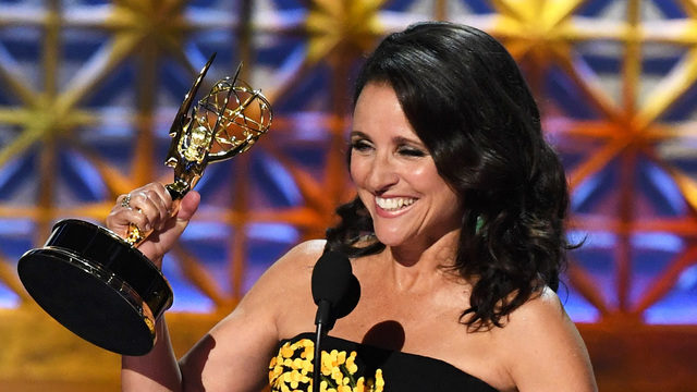 Julia Louis-Dreyfus wins sixth Emmy award for 'Veep' role