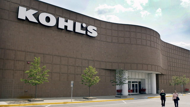 Kohl's will accept Amazon returns at 82 stores starting in October