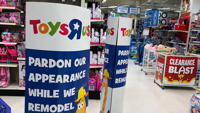 Toys R Us make plans to close 180 stores