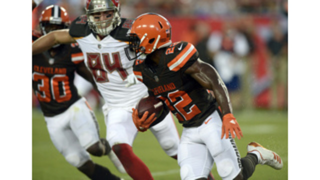 Deep thinking: Browns playing rookie safety Peppers way back