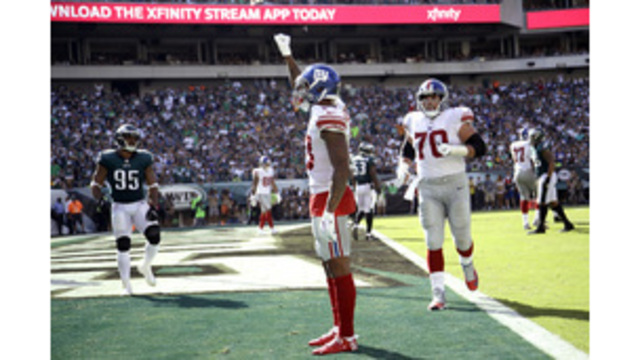 Mara 'unhappy' with Odell Beckham's TD celebration