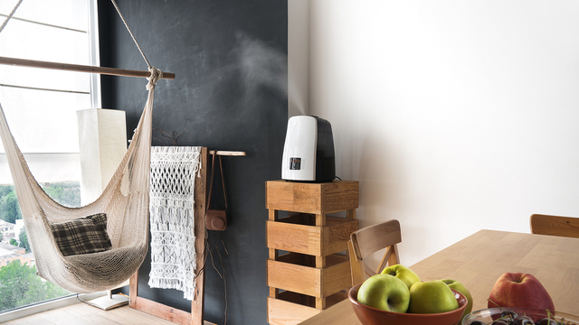 Humidifiers: Air moisture eases skin, breathing symptoms