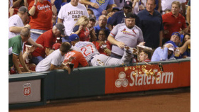 'Nacho man' relates Cub's collision with snacks in St. Louis