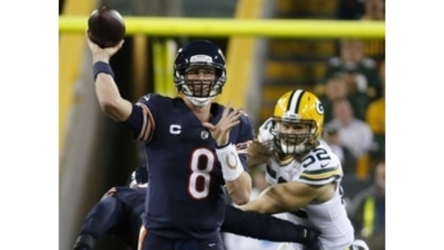 Mistakes, pressure mount for Bears and QB Mike Glennon