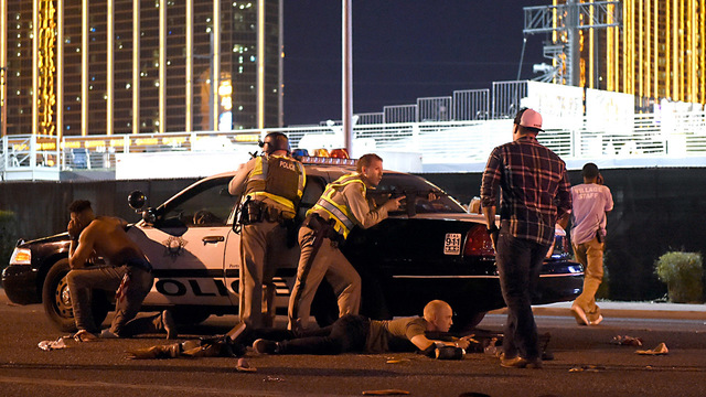 Las Vegas police shooting car48698189