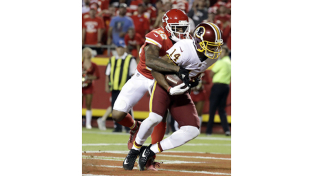 Chiefs' Smith shines again in win over Redskins