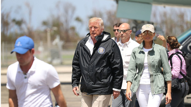 Trump tells Puerto Rico 'You've thrown our budget a little out of whack'