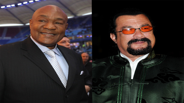 George Foreman Ready For Ring Return, Targets Steven Seagal