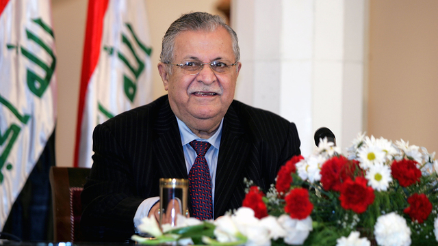 Iraq's first non-Arab president, Jalal Talabani, has died