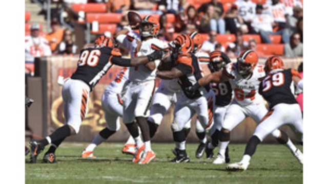 Cleveland Browns rookie DE Myles Garrett to make debut vs